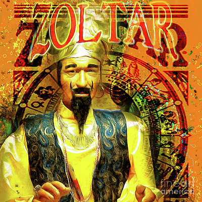 Photograph - Zoltar Speaks Fortune Teller 20161108v3sq by Wingsdomain Art and Photography