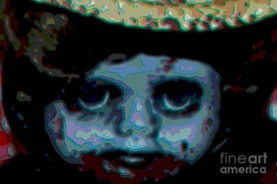 Digital Art - Zombie Abstract Three by Beverly Ann Shelby