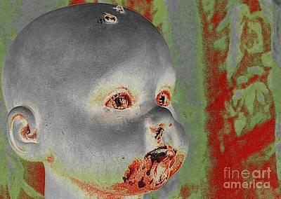 Zombie Baby Art Print