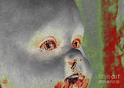 Zombie Baby Three Art Print