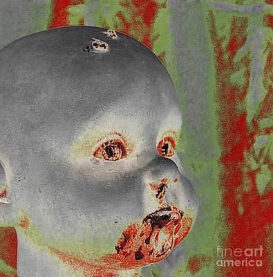 Zombie Baby Two Art Print