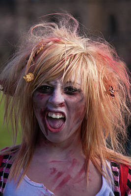 Photograph - Zombie Girl by Tatiana Travelways