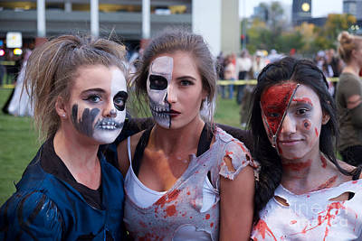 Photograph - Zombie Girls by Vinnie Oakes