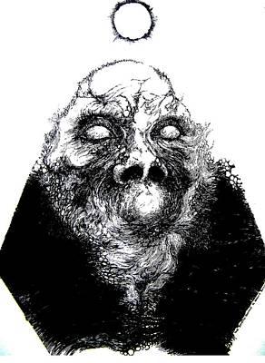 Zombie Rising Art Print by Harold Bascom