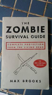 Painting - Zombie Survival Guide by Leah Saulnier The Painting Maniac