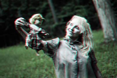 Zombie Photograph - Asylum Mom by Karen StClaire