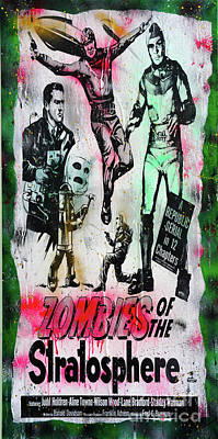 Zombies Of The Stratosphere Original by Jd Kline
