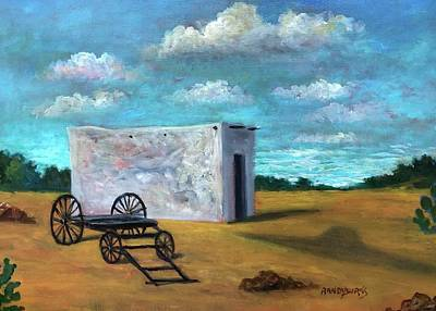 Painting - Zona Del Silencio/zone Of Silence by Randy Burns