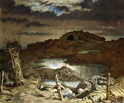 Sir William Orpen Painting - Zonnebeke  by MotionAge Designs