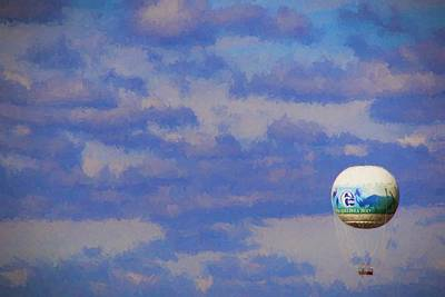 Photograph - Zoo Balloon Sky by Alice Gipson