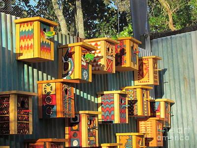 Zoo Bird Box  Art Print