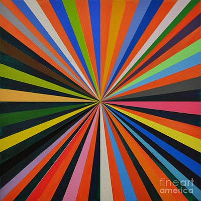 Tribal Art Painting - Zoom Art  by Gull G