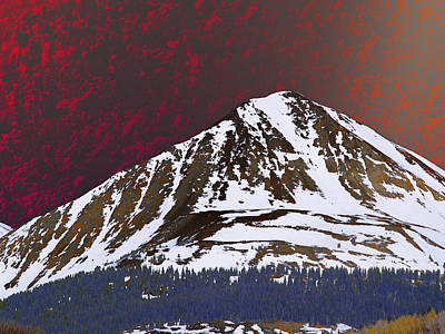 Photograph - An American Peak by David Pantuso