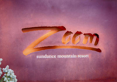 Photograph - Zoom Sundance Mountain Resort by David Millenheft