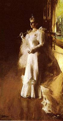 Photograph - Zorn Anders Mrs Potter Palmer by Anders Zorn