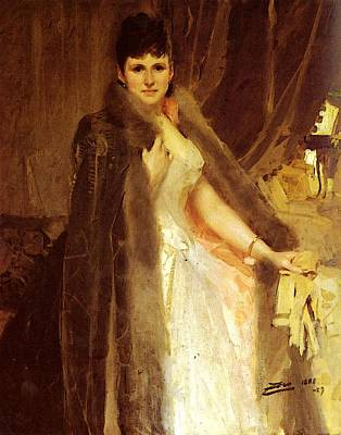 Photograph - Zorn Anders Mrs Symons by Anders Zorn