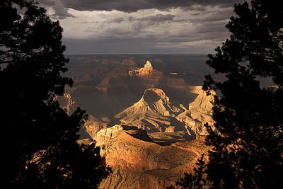 Grand Canyon Photograph - Zoroaster Temple At Dusk by Mike Buchheit