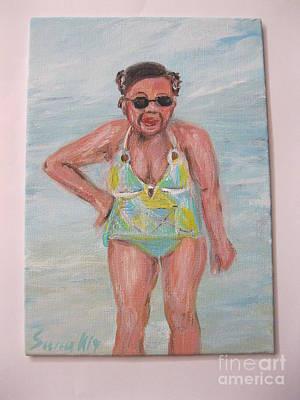 Painting - Zoya. Portrait by Oksana Semenchenko
