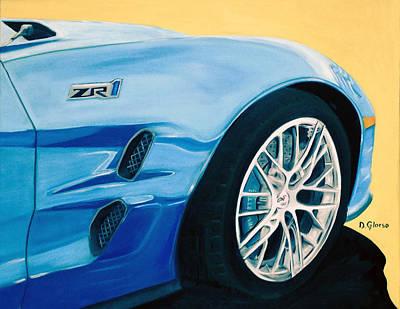 Zr1 Go Faster Art Print