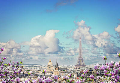 Photograph - Spring Day In Paris by Anastasy Yarmolovich