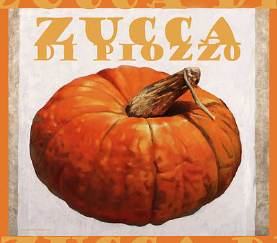 Royalty Free Images - Zucca di Piozzo Royalty-Free Image by Guido Borelli