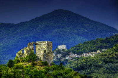 Photograph - Zuccarello E Castelvecchio Di Rocca Barbena by Enrico Pelos