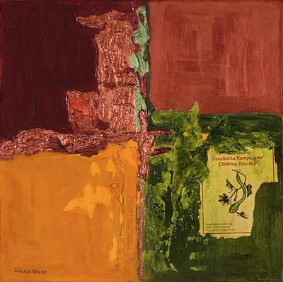 Painting - Zucchetta by Diana Wade