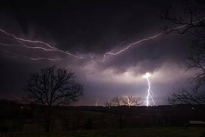 Storm Photograph - Zues by Tyler Schlitt