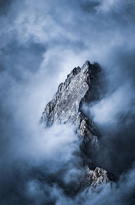 Mountain Digital Art - Zugspitze by Yu Kodama Photography