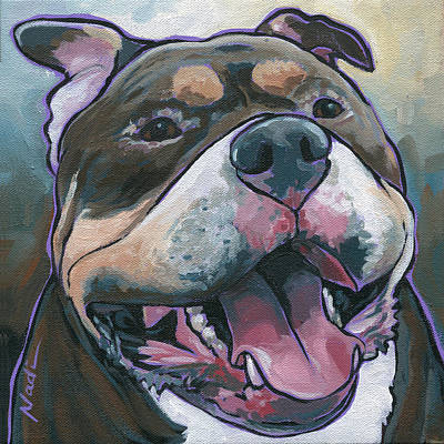 Pitty Painting - Zuki by Nadi Spencer