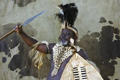 Photograph - Zulu Challenge by Michele Burgess