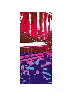 Zulu Rascals In Purple  Art Print