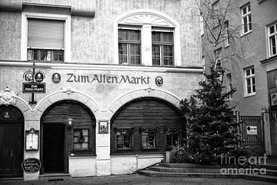 Food Stores Photograph - Zum Alten Markt by John Rizzuto