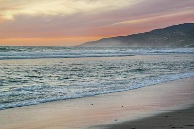 Priska Wettstein Pink Hues - Zuma Beach Sunset by Josh Coleman