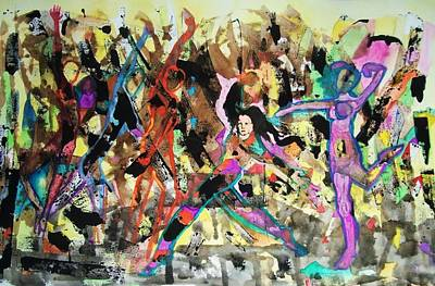Modesto Painting - Zumba by James Christiansen