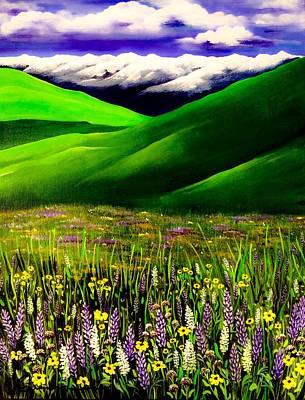 Painting - Zumwalt Prairie by Jennifer Lake
