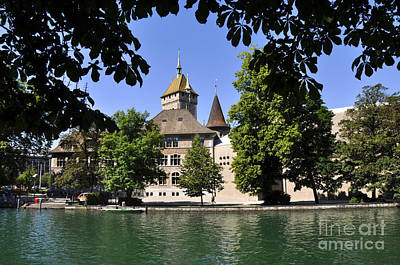 Photograph - Zurich 1 by Andrew Dinh