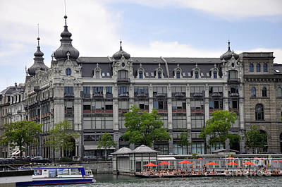 Photograph - Zurich 11 by Andrew Dinh