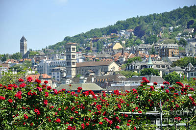 Photograph - Zurich 14 by Andrew Dinh