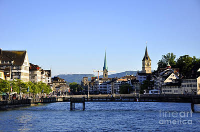 Photograph - Zurich 2 by Andrew Dinh