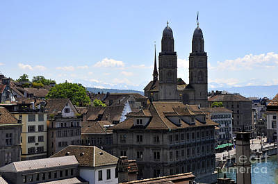 Photograph - Zurich 3 by Andrew Dinh