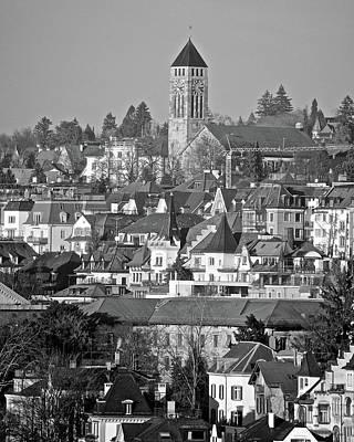 Photograph - Zurich Cityscape by Matt MacMillan
