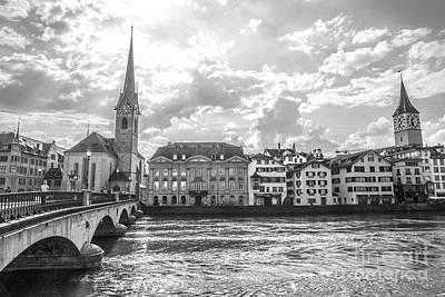 Photograph - Zurich II by Liesl Marelli