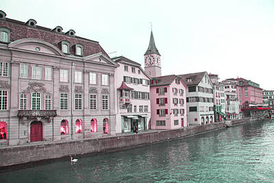 Photograph - Zurich In The Morning  by Lali Kacharava