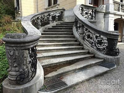 Painting - Zurich - Villa Patumbah by Art Ina Pavelescu