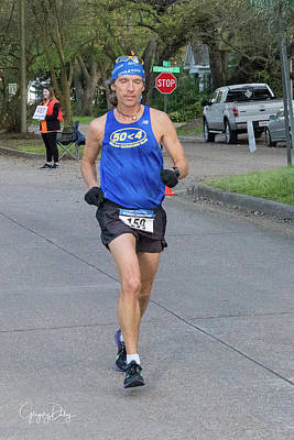 Photograph - Zydeco Marathon 38 by Gregory Daley  MPSA