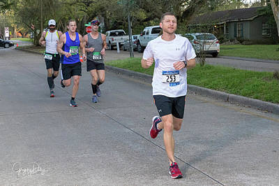 Photograph - Zydeco Marathon 42 by Gregory Daley  MPSA