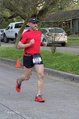 Photograph - Zydeco Marathon 43 by Gregory Daley  MPSA
