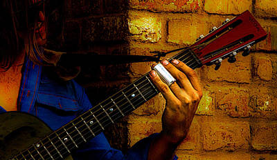 Photograph - Zydeco Slider by Jeff Kurtz