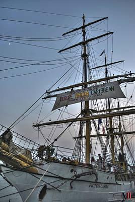 Thomas Kinkade - 002 Tall Ships Picton Castle by Michael Frank Jr